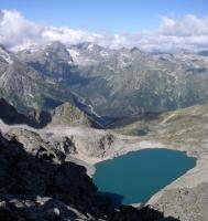 Озеро Кратерное Кратерное Софийский хребет озеро