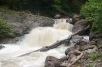 Небольшой водопад на реке Рожкао Рожкао водопад Рожок