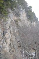 Пещера Озёрная Вид на вход в пещеру Озёрную