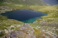 Пятиозёрье. Загеданский хребет Озеро - исток реки Ацгара