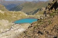 Третье озеро у перевала Иркиз Софийские озёра Перевал Иркиз Софийский хребет