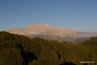 Скальный массив горы Фишт Озеро Хуко гора Фишт скалы с западной стороны Фишта