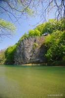 Скала Петушок река Псекупс у Горячего Ключа