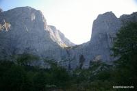 р. Водопадистый (Водопадный) Здесь находится самый высокий водопад в России
