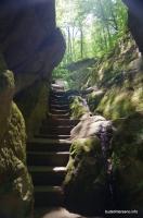 Дантово ущелье Лестница в Дантовом ущелье