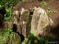 Провал - входной колодец в пещеру Майская Майская пещера вход