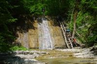 Водопады в Плесецкой щели Плесецкие водопады