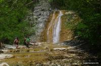 Основной водопад в Плесецкой щели Плесецкая щель плесецкие водопады водопады на р.Тхаб