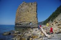 Скала Парус скала Парусная Чёрное море Прасковеевка