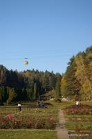Канатная дорога и розарий Кисловодский парк