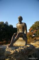 Памятник Лермонтову Кисловодский парк гора Седло