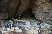 Вход в пещеру Саксафон Входной грот Пещера Саксафон  Аминовка