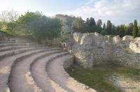 Арена и храм в одном месте Херсонес