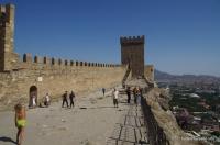 Бастионы Судакской крепости Судакская крепость