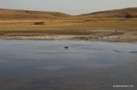 Булганские грязевые вулканы Тарханы