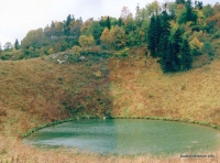Озеро Чеше Озеро Чеше на Черногоре осенью