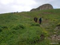 Гора Сундуки Сундуки, Передовой хребет