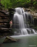 Пшадские водопады Оляпкин водопад