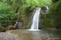 Водопад на Мельничном ручье Водопады Пшады Мельничный водопад