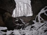 Каньон Трубный ущелье в Ильиче в ноябре