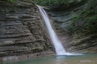 Водопады Коаго Водопады близ посёлка Широкая Пшадская Щель (Широкопшадские водопады)