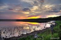 Солёное озеро Бессточное солёное озеро под Армавиром
