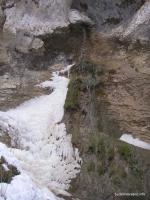 Уникальный водопад в Баракаевской Водопад в гроте