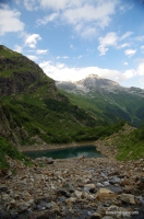 Турье озеро Вид на Семенов-Баши озеро Турье