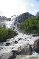 Водопад на Алибеке Алибекский водопад