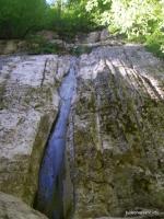 Водопад в ур.Мешок водопад в урочище Мешок