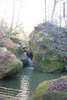 Водопады Мезмайского ручья Ручей Мезмайский