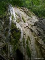 Водопады на реке Чистой Голубые водопады