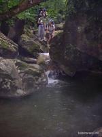 Водопады р.Чистая Голубые водопады