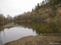 На Ведьмином озере Ведьмино озеро в районе Никитино