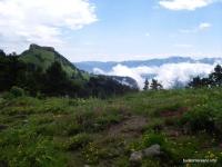 Гора Шапка Шапка вид с Малых Бамбак