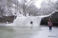 Один из водопадов Щелканки Водопады на балке Щелканка