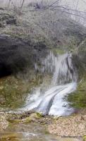 Водопад на Сладкой речке Сладкая речка