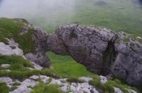 Арка на г.Баранаха сквозной грот арка Скалистый хребет