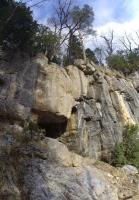 Верхний каскад Пальмового водопада Пальмовый водопад