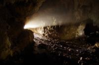 В пещере Аэлита пещера Аэлита Гамовская балка