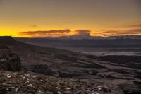 Вид на Эльбрус Баранаха Скалистый хребет