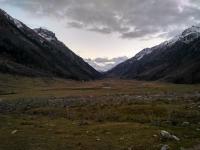 Верховья Марухи Вид на Марухский перевал с севера