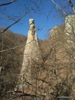 Останец на хр.Герпегем Водопады Воровской балки
