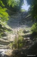 Прохаскин водопад Водопад в балке Прохаскина Тешебс