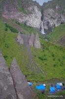 Останцы Долина Замков на Джилысу Тёщины зубы Зубы Дракона Кала-Кулак Водопад Султан
