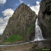 Панорама водопада Водопад Эмир Водопад Каракая-Су Нижний водопад на Джилысу Водопад Тузлук-Шапа