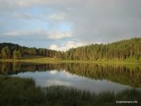 Озеро Хорлакель озеро закат