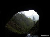 Выход из пещеры Извещательной Извещательная пещера
