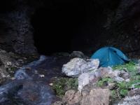 Ночевка в пещере Извещательная пещера  Извещательская