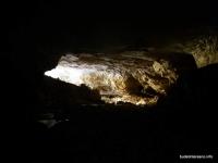 Пещера Гунькина балка выход из пещеры